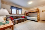 Lower level bunk room - sleeps 2 - 4 persons with full size beds