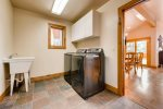 Mudroom with Brand New Washer and Dryer - located off kitchen and garage