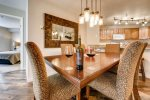 Dining table great for entertaining