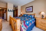 Master bedroom with King bed and 27 flat screen tv and private ensuite