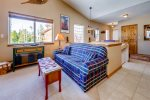Living room with sleeper sofa