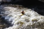 Watch the kayakers on Tenmile Creek - Play park located next to the condo