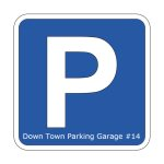 Indoor, secure, heated parking space at Park Avenue Parking Garage