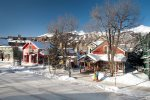 One block to Main Street Breckenridge for shopping and dining