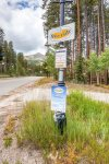 Breckenridge Free Ride Shuttle Stop 50 yards