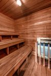 Sauna on site