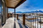 Deluxe new construction top floor 3 BR condo with amazing lake and mountain views