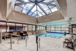 Enjoy the indoor/outdoor common area pool.