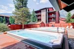 Enjoy fresh mountain air and views in the 3 outdoor hot tubs.