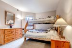 Step out onto the deck and enjoy the views of the Tenmile Range.