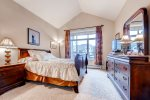 Second master suite with queen bed.