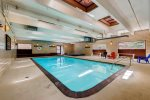 Indoor pool in clubhouse.