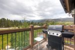 Grill up a meal on your back deck as you enjoy the beautiful views.
