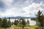 Unobstructed views of Lake Dillon and the surrounding mountains.