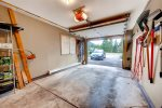 Level 3 One car garage with room to store skis. Private drive for 2 - 3 cars