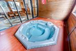 Common area hot tub provided.