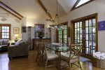 High Ceilings and French Doors
