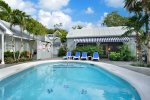 Shared Heated Family pool where we have Happy Hour 4-5 on Wed. and Sat.