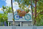 Just look for the painted/landscaped bike that everyone loves to photograph