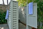 Ever showered outdoors  At Lennon`s you have your own, private outdoor shower
