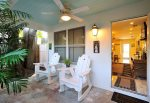 Sit on the front porch in the vintage rocking chairs and enjoy Caribbean breezes