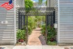 Entrance to Old Town Villas in Old Town Key West