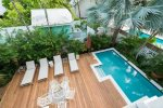 Lounge by the pool and enjoy the warm Florida Keys sun