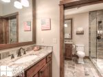 Big Sky Resort, Powder Ridge Oglala 13, Downstairs Bathroom, 1