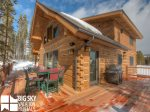 Big Sky Resort, Powder Ridge Oglala 13, Deck, 2