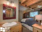 Cowboy Heaven Rentals, Cabin 15 Rustic Ridge, Bedroom 1 Bathroom, 1