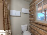 Cowboy Heaven Rentals, Cabin 15 Rustic Ridge, Bedroom 1 Bathroom, 2