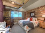 Cowboy Heaven Rentals, Cabin 15 Rustic Ridge, Bedroom 1, 2