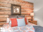 Cowboy Heaven Rentals, Cabin 15 Rustic Ridge, Bedroom 1, 3