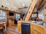 Cowboy Heaven Rentals, Cabin 15 Rustic Ridge,  Kitchen, 1