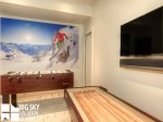 Big Sky Resort, Silvertip 16 Alpine Bend, Downstairs Game Room, 2