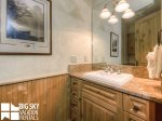 Big Sky Resort, Moonlight Penthouse 4, Guest Bathroom, 1