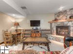 Big Sky Resort, Powder Ridge Manitou 1, Downstairs Living, 1