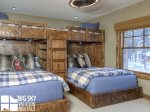 Big Sky Resort, Powder Ridge Manitou 1, Bedroom 3, 1