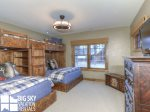 Big Sky Resort, Powder Ridge Manitou 1, Bedroom 3, 2