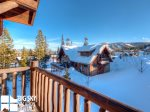 Big Sky Resort, Powder Ridge Manitou 1, Bedroom 4 Deck View, 2