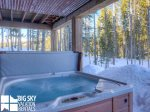 Big Sky Resort, Powder Ridge Manitou 1, Private Hot Tub, 1