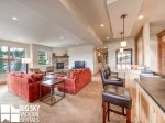 Big Sky Condos, Beaverhead Suite 1448, Living, 3