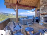 Big Sky Resort, Cowboy Heaven Luxury Suite 7C, Deck, 1