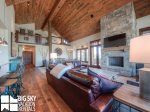 Big Sky Resort, Cowboy Heaven Luxury Suite 7C, Living, 2