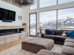 Big Sky Resort, Silvertip 4 Silverpeaks Drive, Living, 3