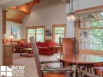 Big Sky Montana Lodging, Elk Creek Lodge, Downstairs Living, 4