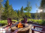 Big Sky Montana Lodging, Elk Creek Lodge, Deck, 1