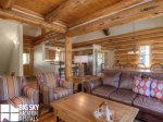 Big Sky Montana Lodging, Elk Creek Lodge, Living, 6