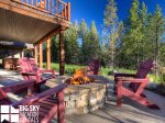 Big Sky Montana Lodging, Elk Creek Lodge, Deck, 3