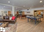Moonlight Basin Lodge, Timber Lodge, Downstairs Living Game Room, 1